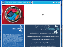 MERMAIDS Life+  Mitigation of microplastics impact caused by textile washing processes.